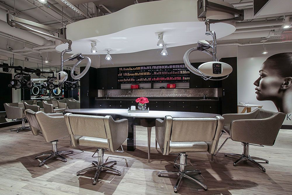 Soty 2014 soto salon on the ohio color bar in 2019 salons salon design kitchen appliances - Table bar salon ...