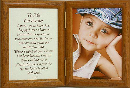 5x7 Hinged TO MY GODFATHER Poem Oak Picture Photo Frame ~ A Wonderful Gift Idea for the GODPARENT/BAPTISM Keepsake Picture Frame PersonalizedbyJoyceBoyce.com,http://www.amazon.com/dp/B008VGX9E4/ref=cm_sw_r_pi_dp_X8kftb0R1MY2BPK7