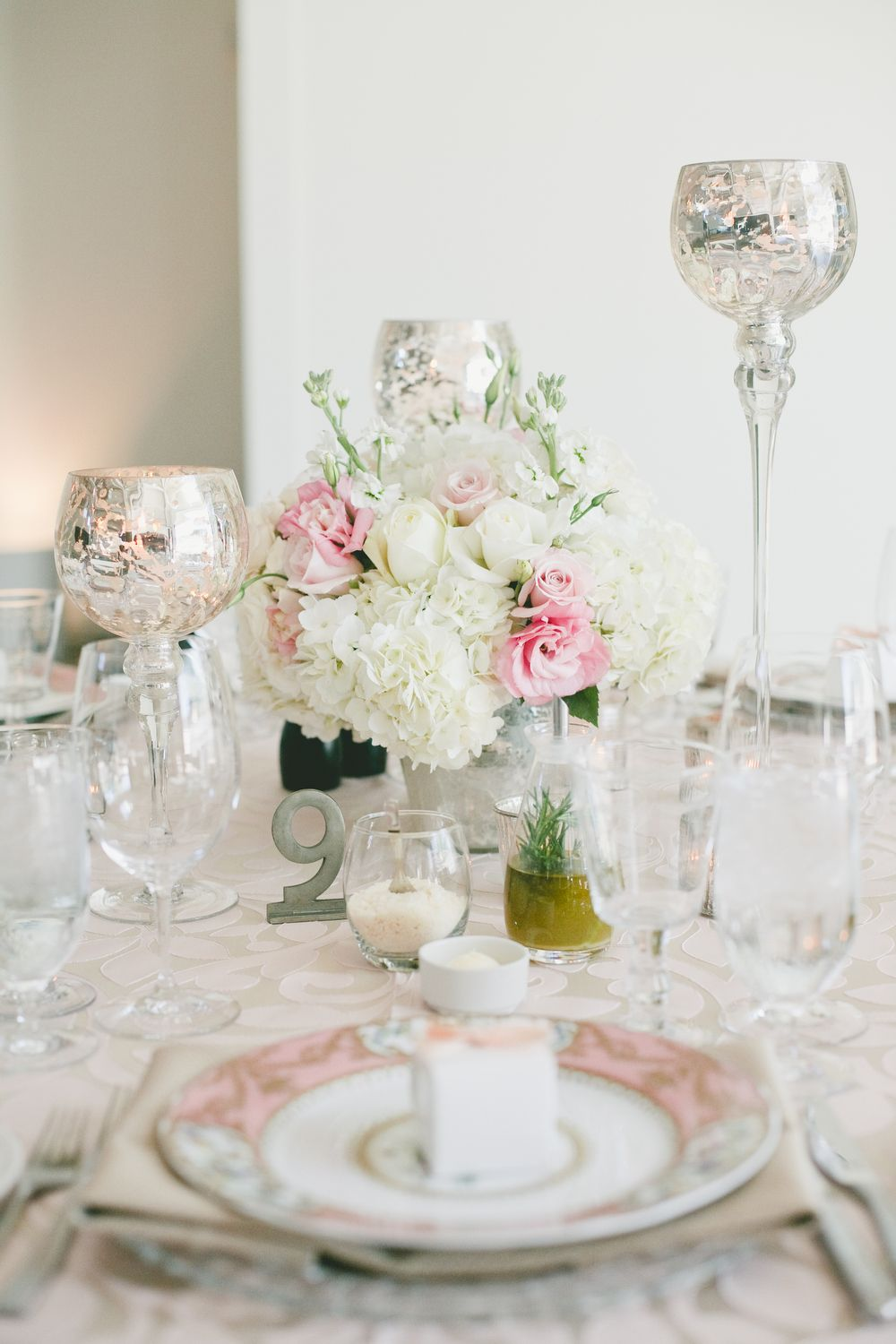 Mercury glass stemmed candle holders. Rentals available for your ...
