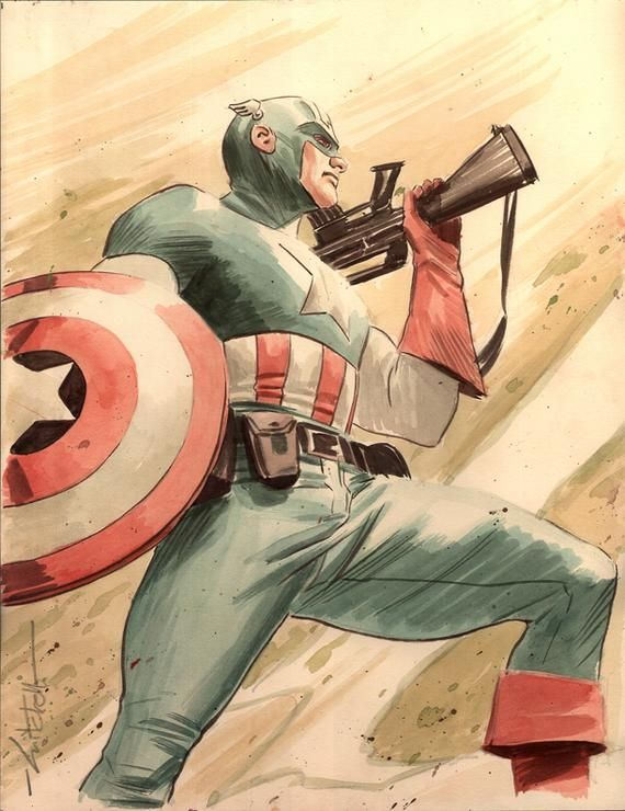 Captain America - Mitch Breitweiser