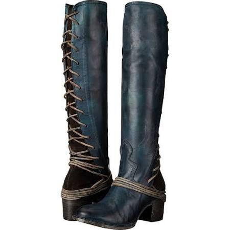 30022d8b5df Freebird Coal Cowboy Boots Navy Leather   8 M