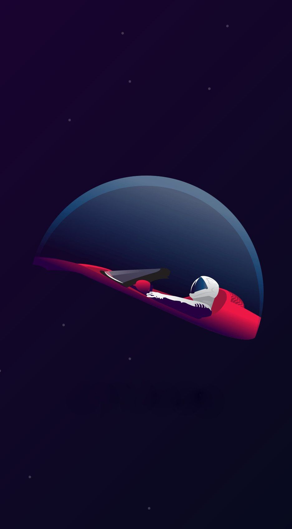 Tesla Spacex Space Iphone Wallpaper Space Phone Wallpaper Technology Wallpaper