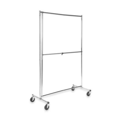 Bed Bath And Beyond Garment Rack Fascinating Loft Clothes Storagebuy 2Way2Tier Garment Rack From Bed Bath Design Inspiration