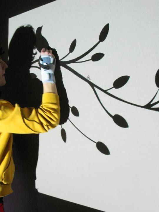 How To Use A Projector Paint Your Own Wall Mural Craft