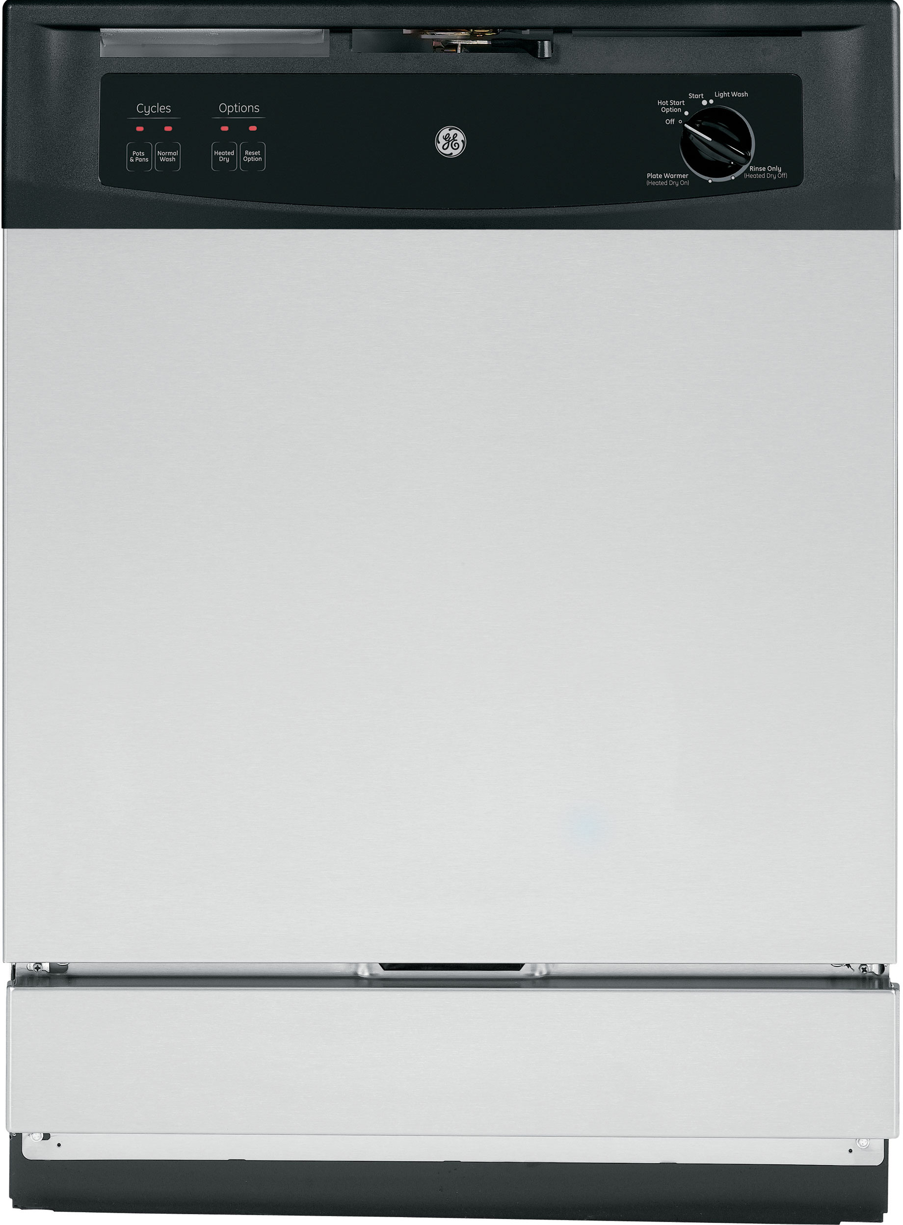 Ge Gsm2260vss Full Console Under The Sink Dishwasher With 12 Place Setting Capacity 5 Wash Cycles 64 Dba Silence Rating Spacemaker Upper Rack Piranha Hard Built In Dishwasher Sink Dishwasher