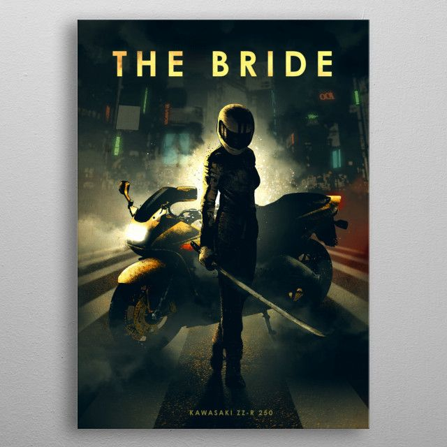 The Bride by Eden Design | metal posters