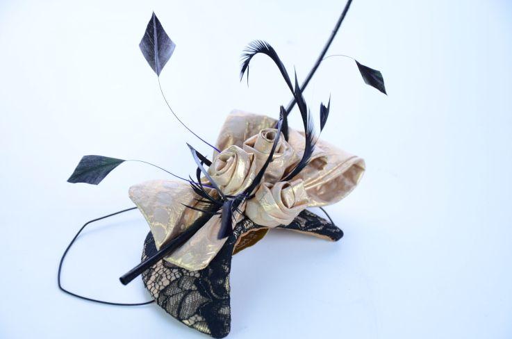 Headpiece Angel by MICHAELA TEMPERLI #millinery #hats #HatAcademy