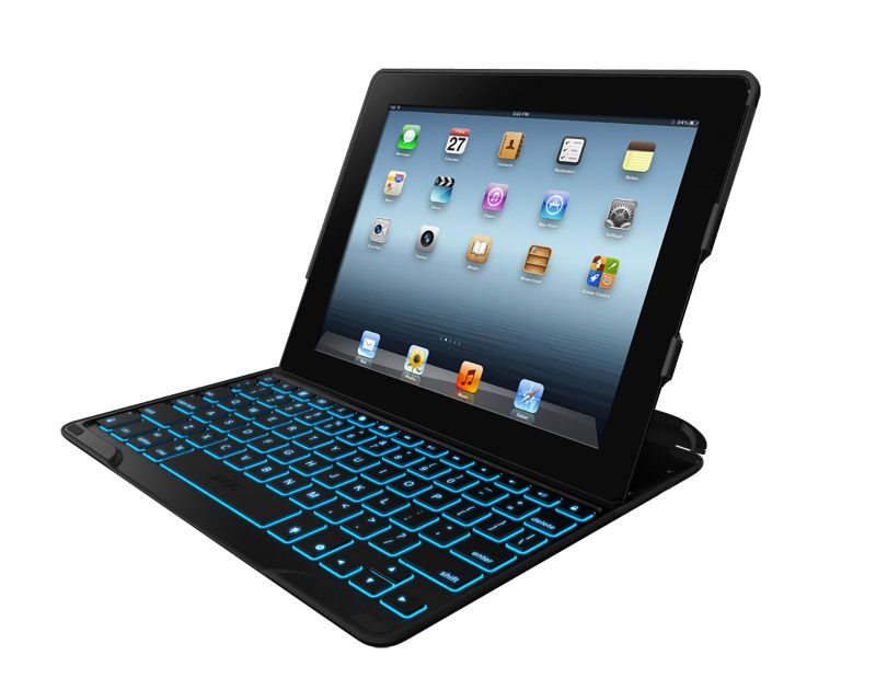 PROfolio+ - Backlit iPad 2 Keyboard Case | ZAGG