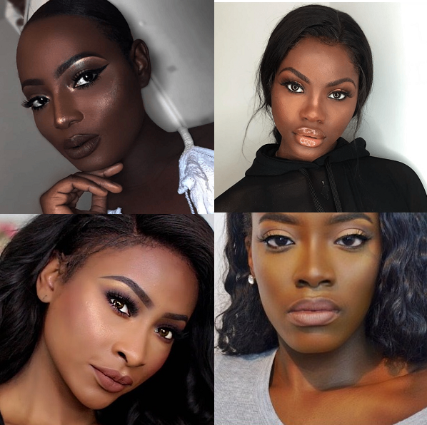 TOP 10 NUDE LIPSTICKS FOR DARK SKIN Collab W/TheTemioTouch