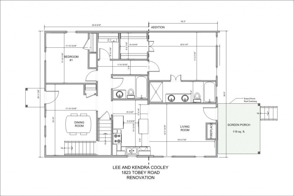 Architecture drawing floor plans Scale Draw Floor Plan