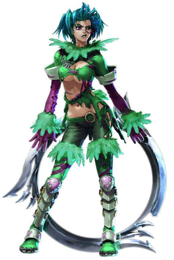 The Best Video Game Characters With Green Hair Tekken Girls