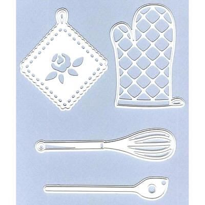 CR1247 Kitchen Set Marianne Design Craftables Cutting /& Embossing Dies