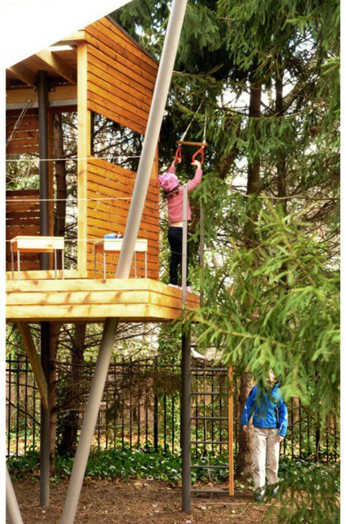 Kinder Spielhäuser im Hinterhof 12 coole Kastelle für