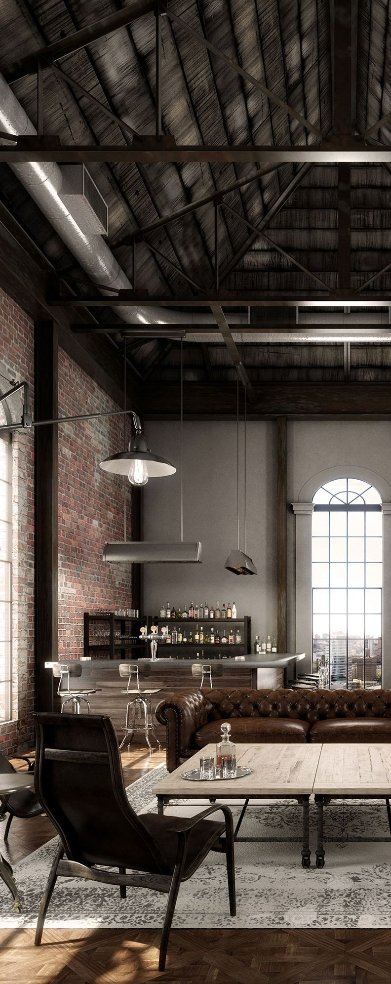 Bilid29 Breathtaking Industrial Loft Interior Design Today 2021 02 10 Download Here