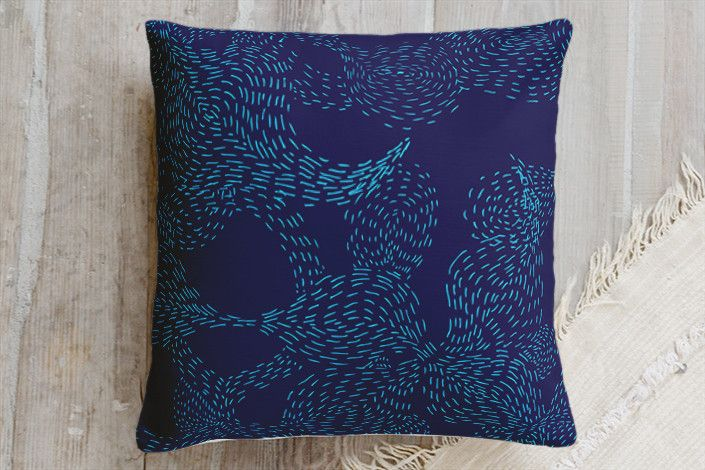 Underwater Pillow by Christina Flowers | Minted