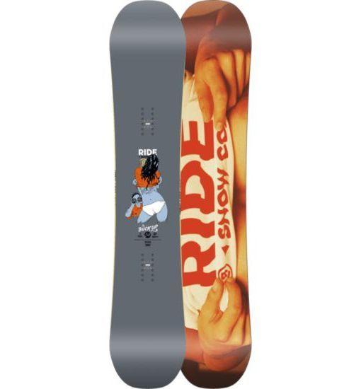 Ride Buck Up Wide Snowboard 2015