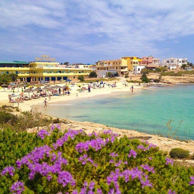 Relax alla Spiaggia della Guitgia #lampedusa #sicilia