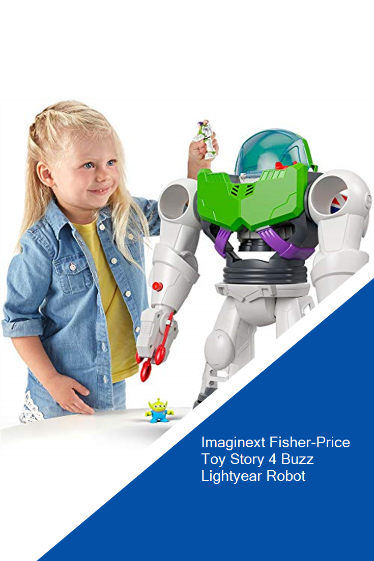 Imaginext Fisher Price Toy Story 4 Buzz Lightyear Robot In 2020 Fisher Price Toys Lightyears Buzz Lightyear