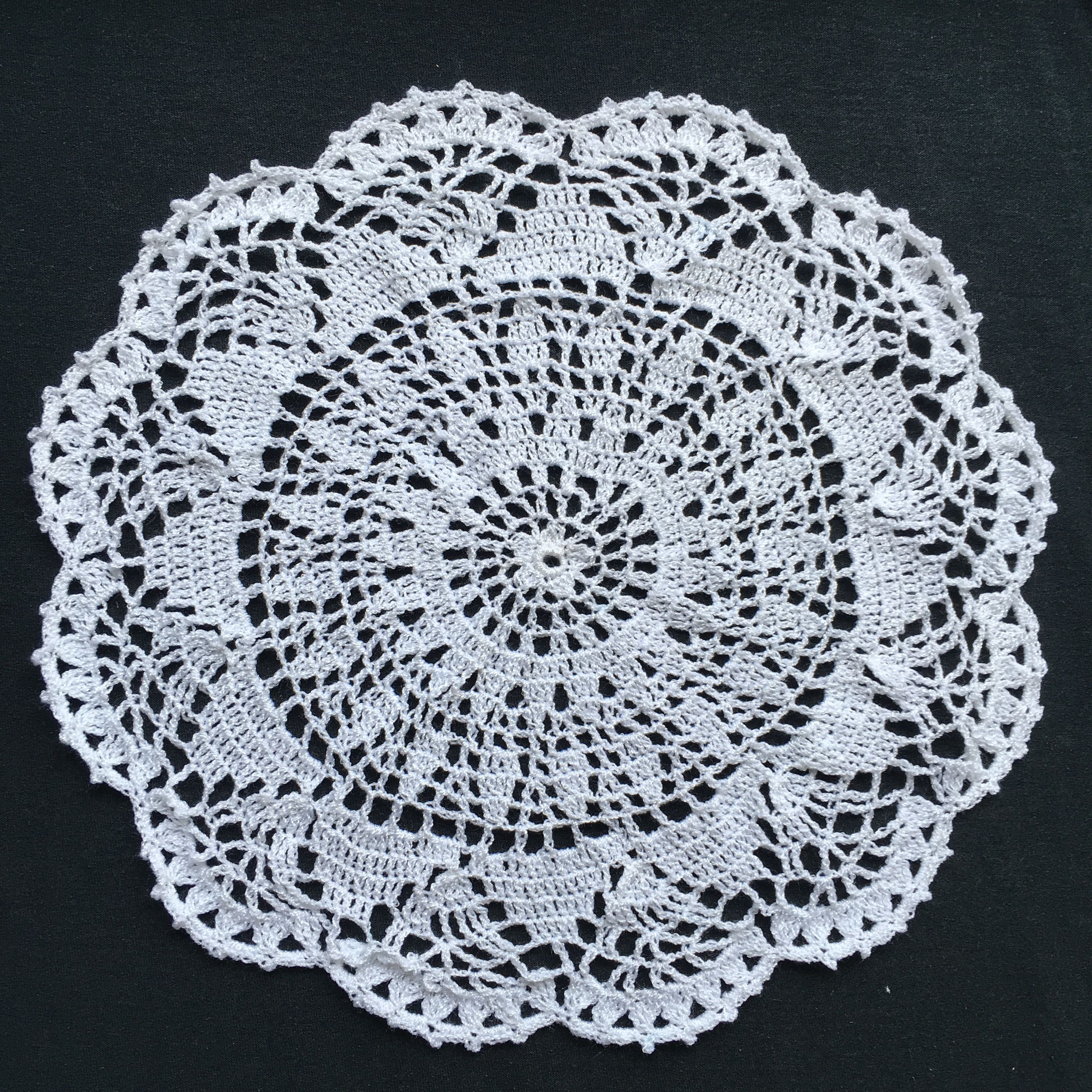 I Crocheted This Doily Patterned By Joanna Stawniak Using Her