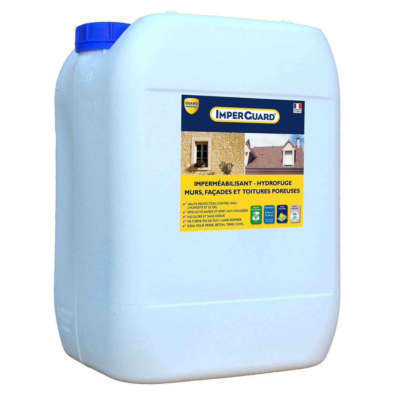 Imperméabilisant Hydrofuge Façade Et Toiture Imperguard 20l