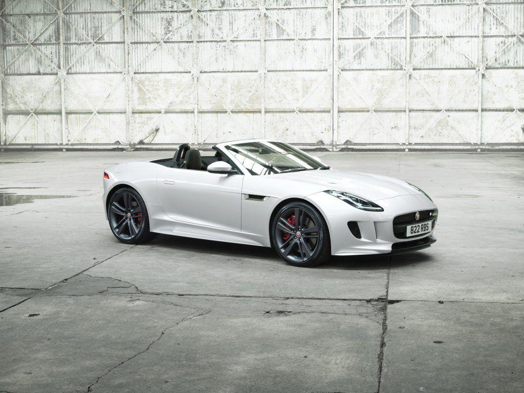 White Jaguar F Type Sports Car Wallpaper Jaguar F Type Jaguar