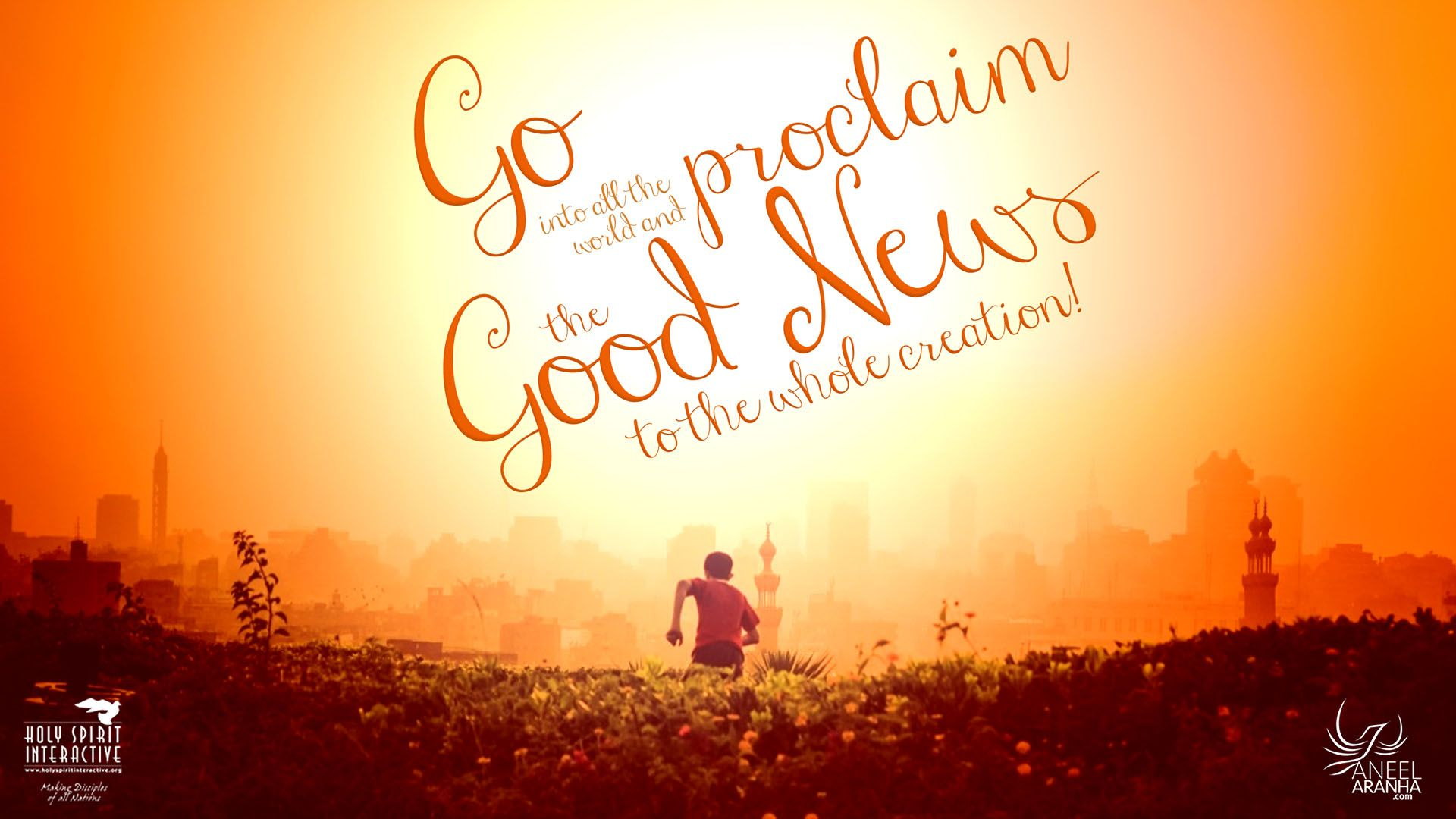 Go into all the world and proclaim the good news to the whole creation!  -Mark 16:15 (NRSVCE) | Word of god, Words, God