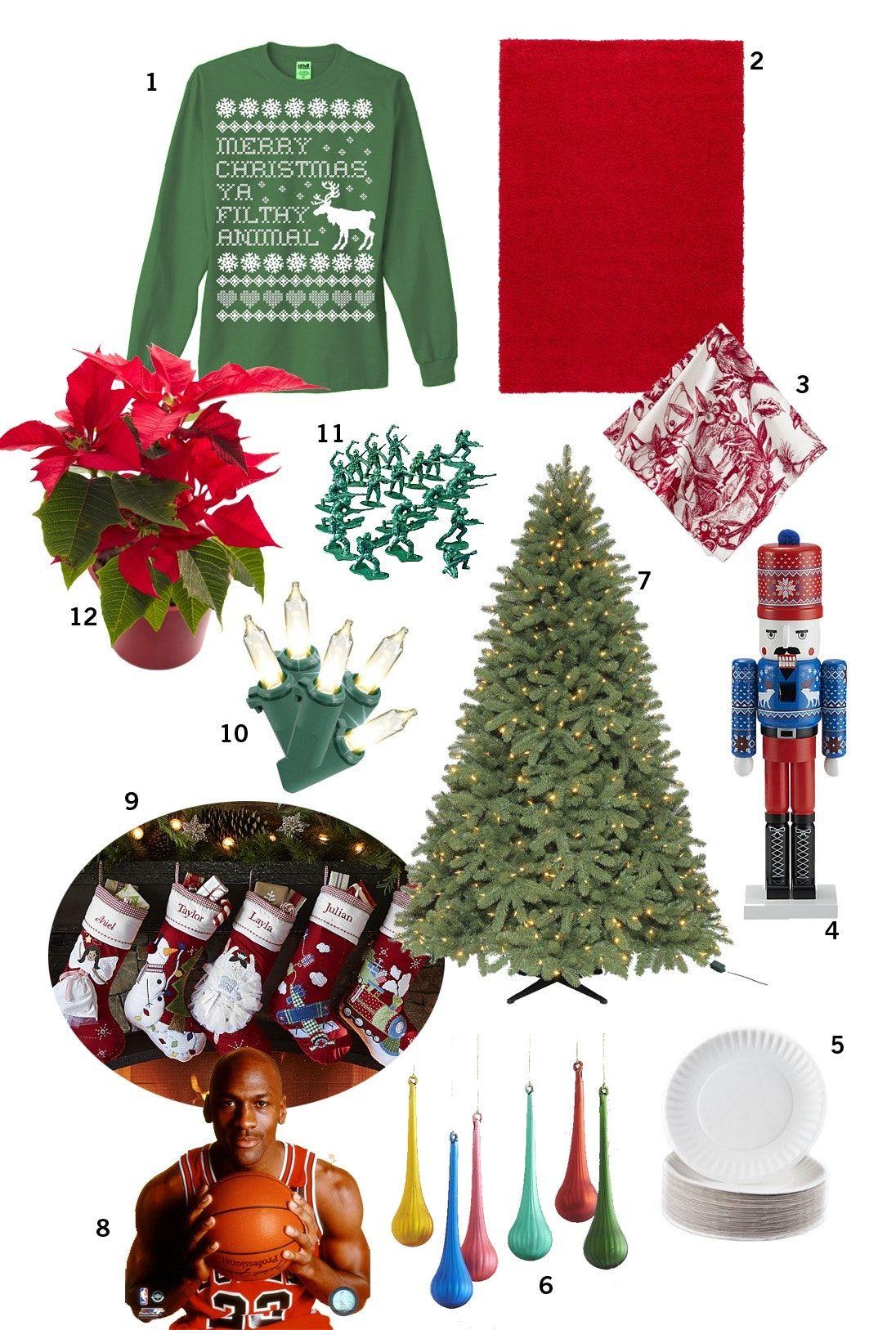 "A ""Home Alone"" Christmas Party: Decor, Menu & Music   Home alone christmas, Christmas party ..."