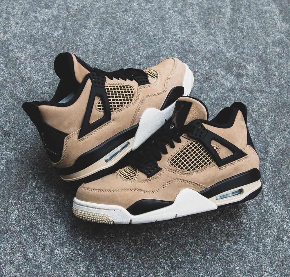 Womens Air Jordan 4 Retro Mushroom Sale Price 159.99
