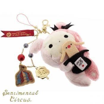 San-X Sentimental Circus Large Fluffy Plush Doll Cell Phone Charm (Magic) by San-X, http://www.amazon.com/dp/B005FTCJB4/ref=cm_sw_r_pi_dp_-iZurb0FKF3H6