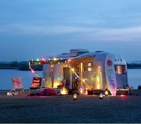 Pin By Sharon Liem On Home Ideas Airstream Beach Camping Airstream Trailers
