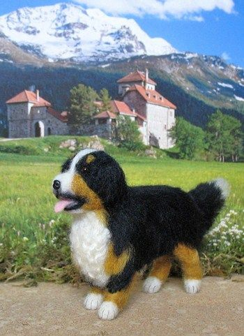 How To Needle Felted Dog Basteltipps Filz Hunde Filztiere
