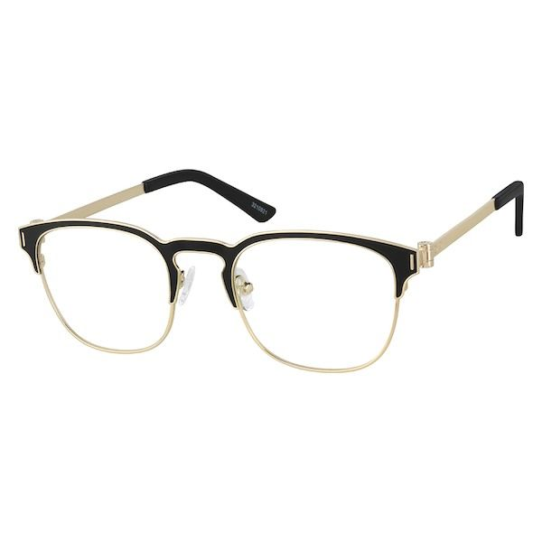 Translucent Browline Glasses #195423   Zenni Optical