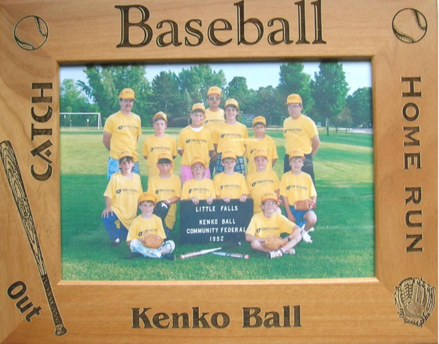 Baseball Picture Frames Models And Standard Sizes Of Wooden