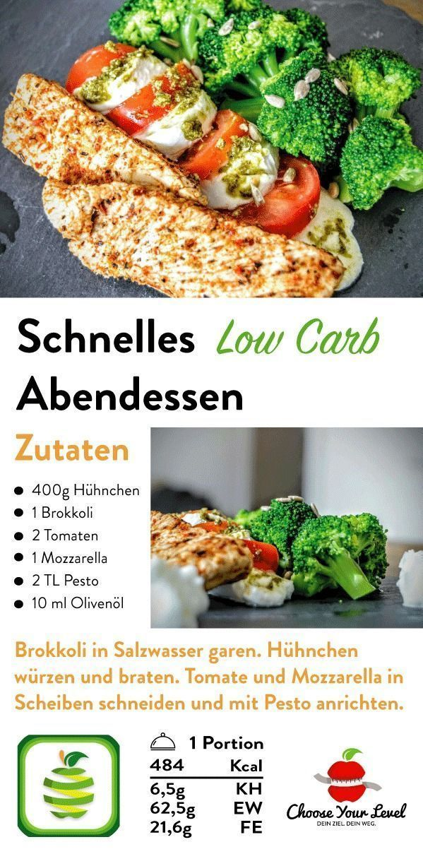 Photo of Low Carb Recipe Dinner – Quick & Easy – Choose Your Level ™ – Apple Pie