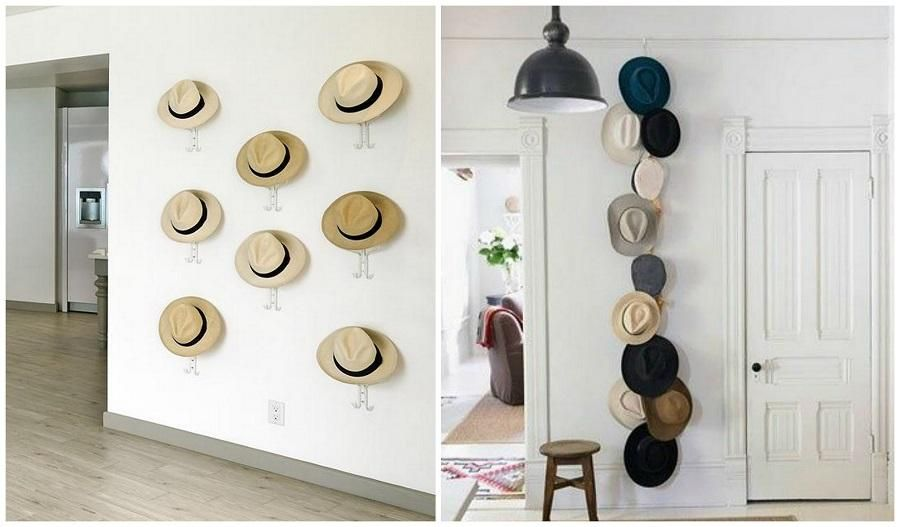 Decoracion de paredes decorar con sombreros pinterest for Ideas originales para decorar tu casa