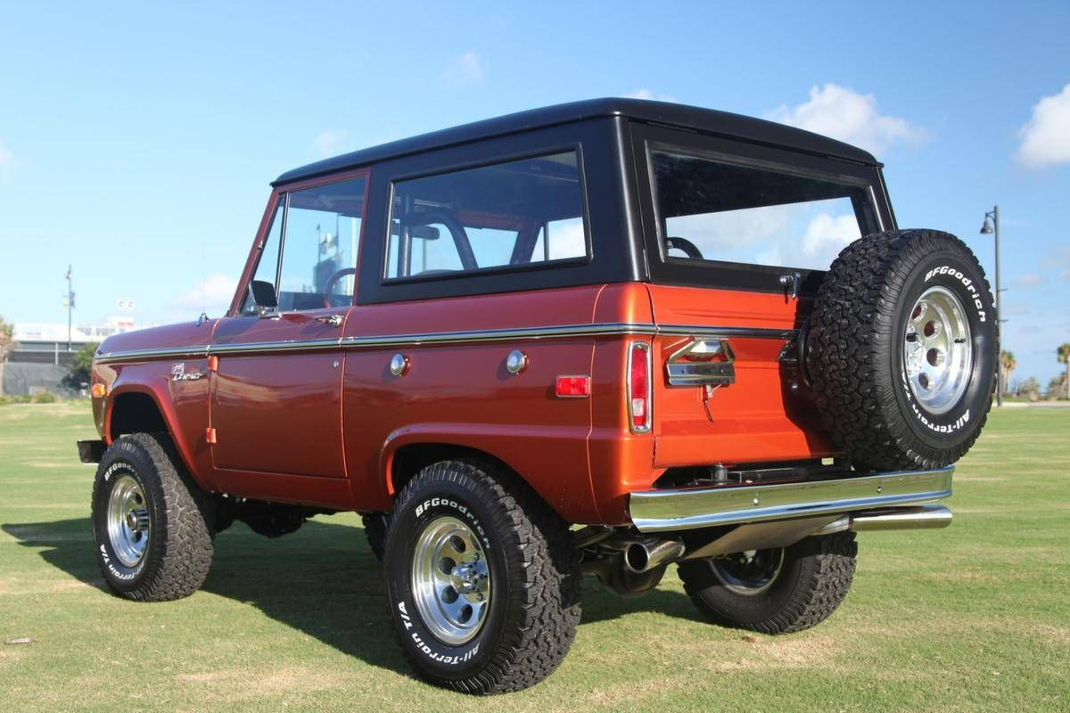 1973 Ford Bronco Sport Ford bronco for sale, Classic