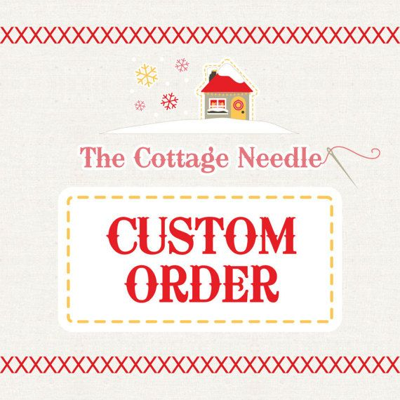 Custom Listing for Bertha by thecottageneedle