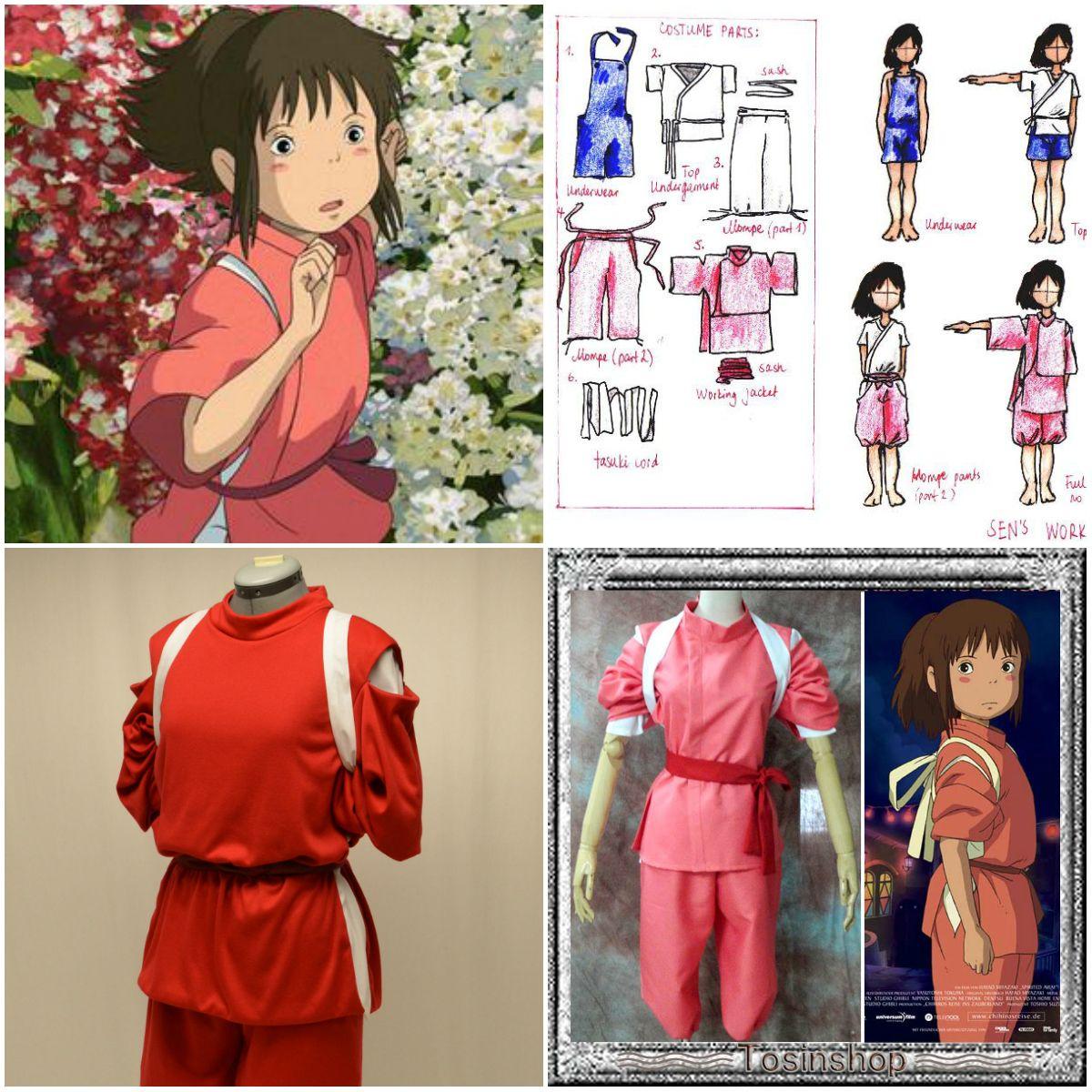 Chihiro Spirited Away Garb Idea Anime Cosplay Costumes Cosplay Diy Spirited Away Cosplay
