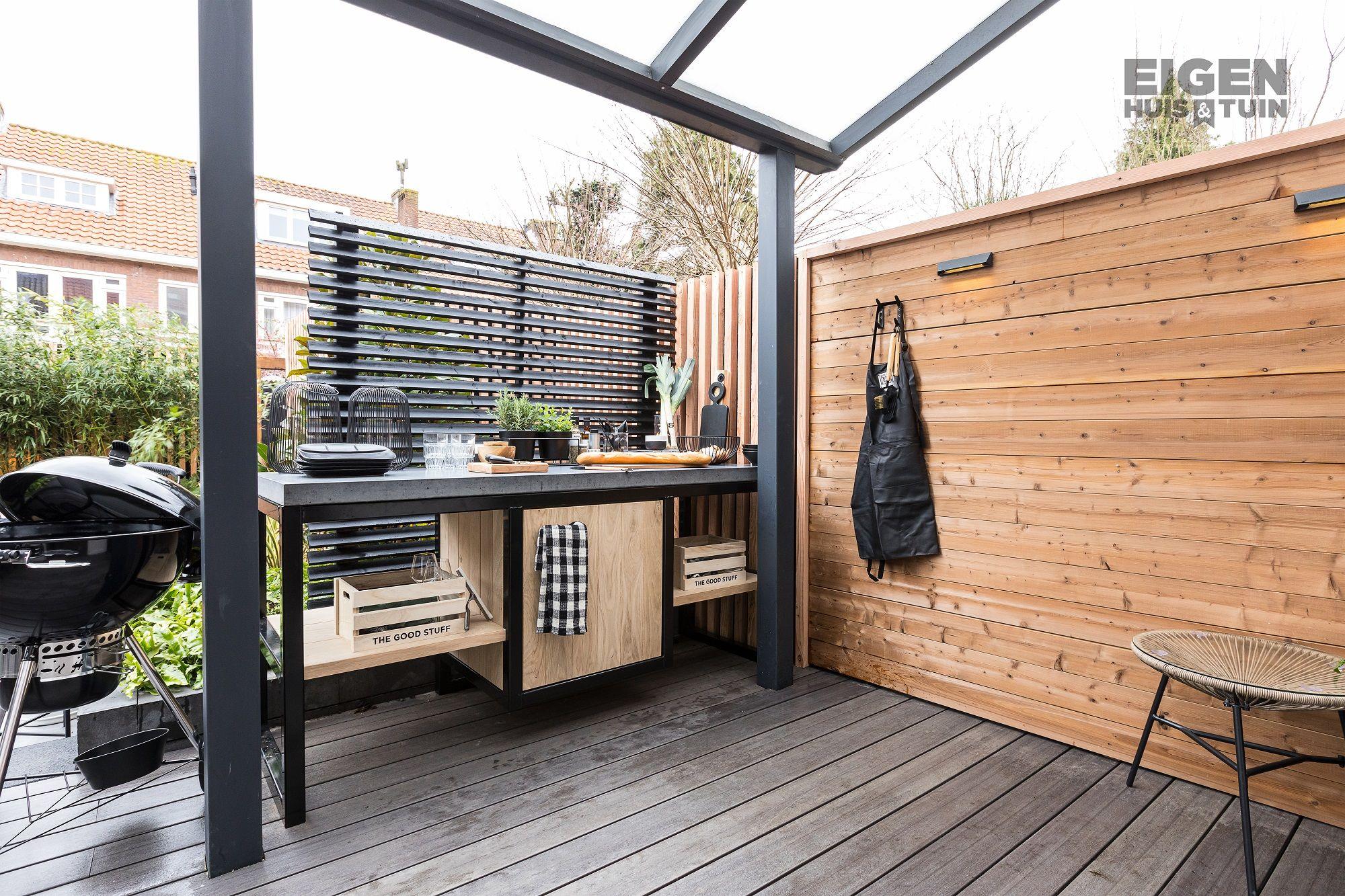 Een buitenkeuken bij De Wit Schijndel | Buitenkeuken