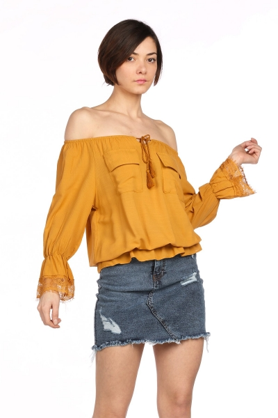 Bluz Bayan Bluz Modelleri Yeni Sezon Tarzbol En Ucuz Kadin Ve Erkek Giyim Sitesi Fashion Women Long Sleeve Blouse
