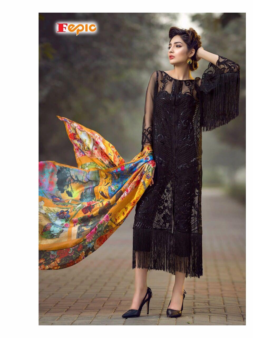 c1c37eadf9 Fepic Rosemeen Pride Pakistani Suit Wholesale(6 Pc Catalog ...