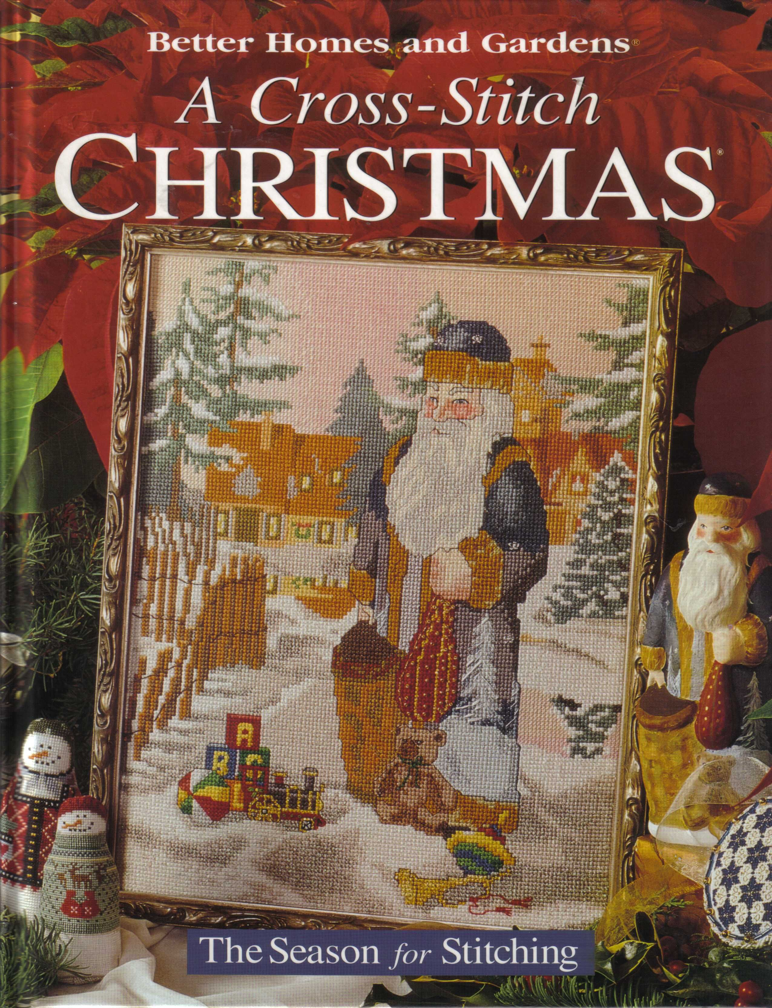 Better Homes and gardens - A cross stitch christmas | cross stitch ...