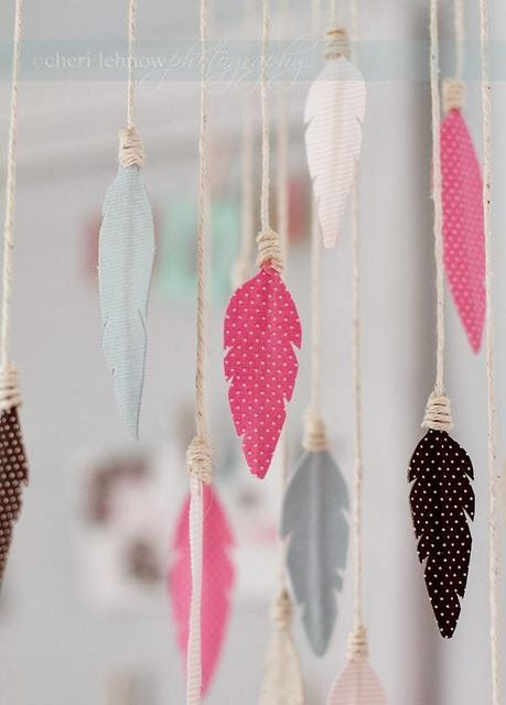 Feathers add up a lil' peace to your room!
