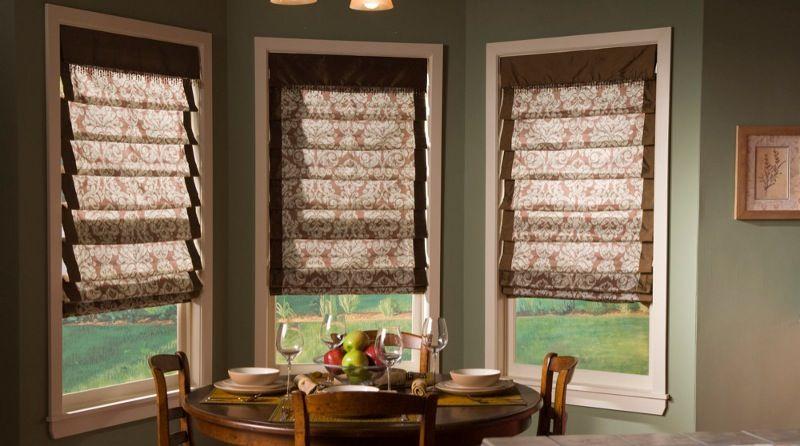 Roman Shades Types of windows Pinterest Unique window
