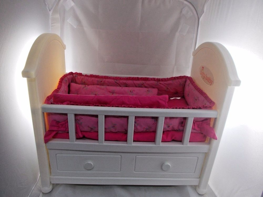 Marvelous American Girl Bitty Baby Crib Bed W Storage Drawer 18 H X Download Free Architecture Designs Photstoregrimeyleaguecom