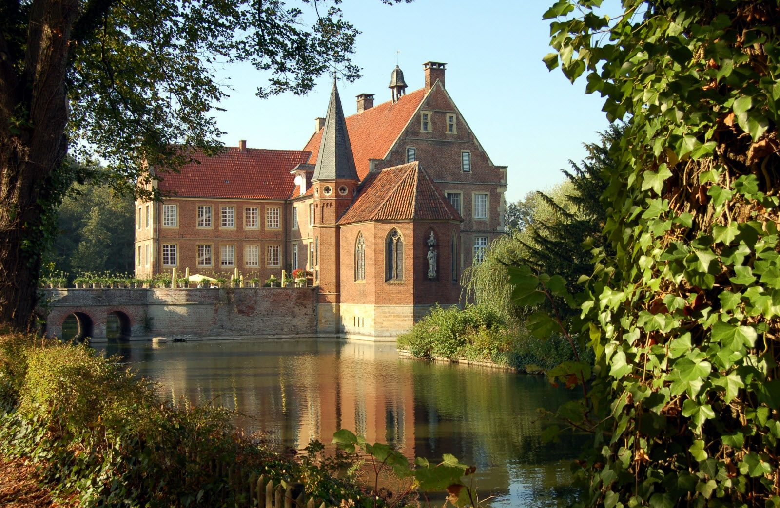 Burg Hülshoff House styles, Mansions, Architecture