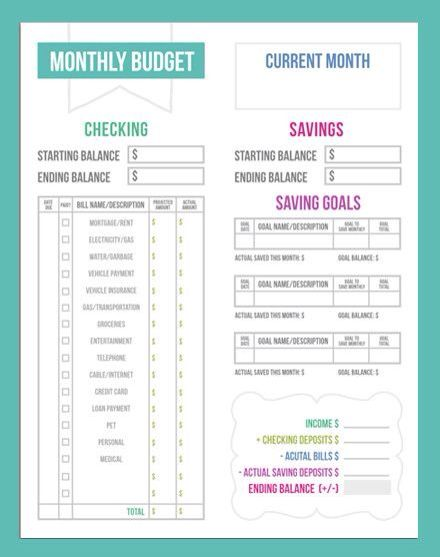 monthly budget young solutions pinterest monthly budget budgeting and personal finance
