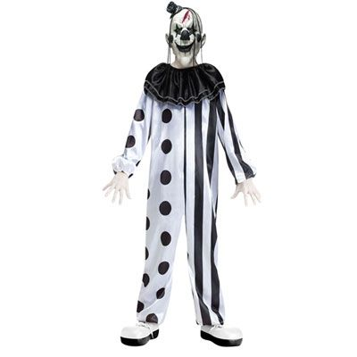 New Black White Devious Harlequin Cool Clown Fancy Dress Halloween Costume For Men Women Jade White Game Costumes Novelty & Special Use
