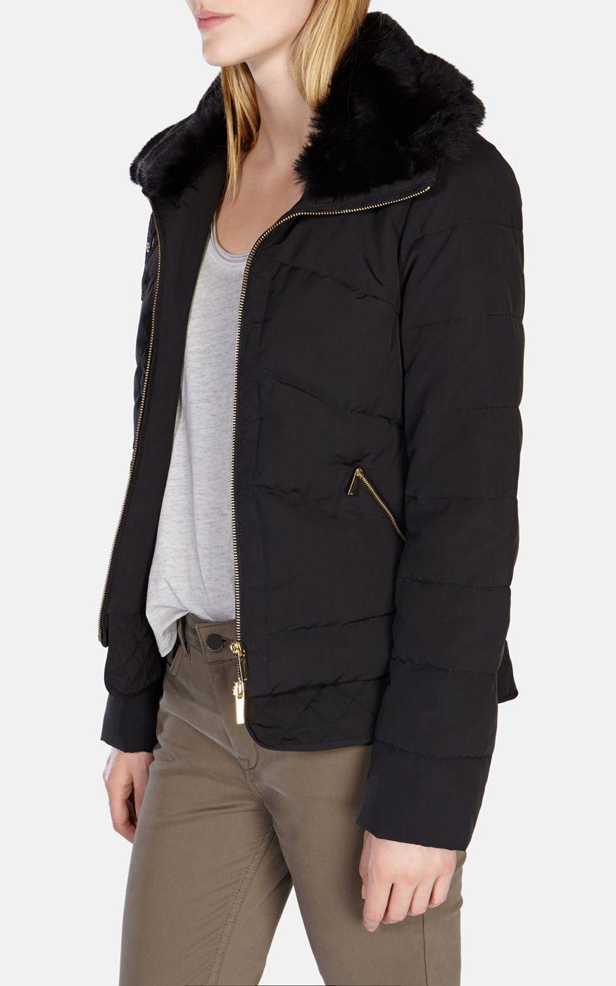 Karen Millen   Glamorous Short Quilted Jacket   $351