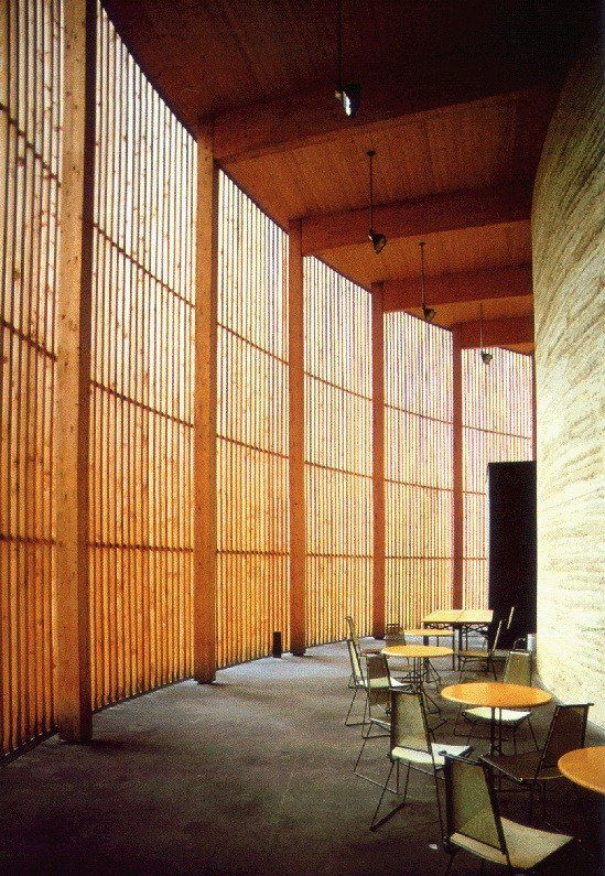 Chapel Of Reconciliation, Berlin, 2001 Design Pinterest